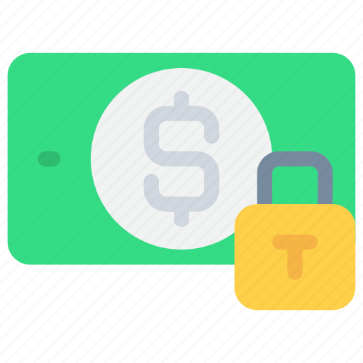 banking, padlock, payment, secure, security icon