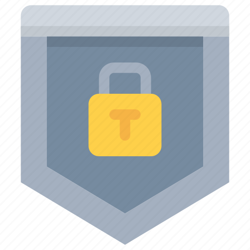 padlock, protection, secure, security, shield icon