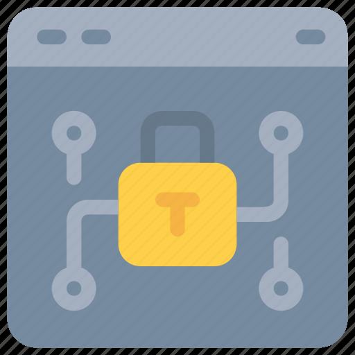internet, network, online, padlock, secure, security, webiste icon