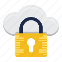cloud, data, protection, security, storage icon