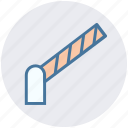 barrier, manual barrier, police barrier, police line, road barrier icon
