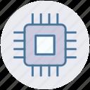 cpu, gpu, guard, network, processor, security icon