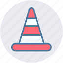 alert, cone, construction, equipment, road security, traffic icon