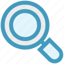 glass, magnifier, magnifier glass, magnifying, zoom, zoom in, zoom out icon