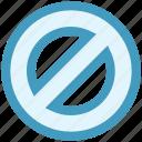 ban, cancel, forbidden, forbidden sign, prohibited, restricted