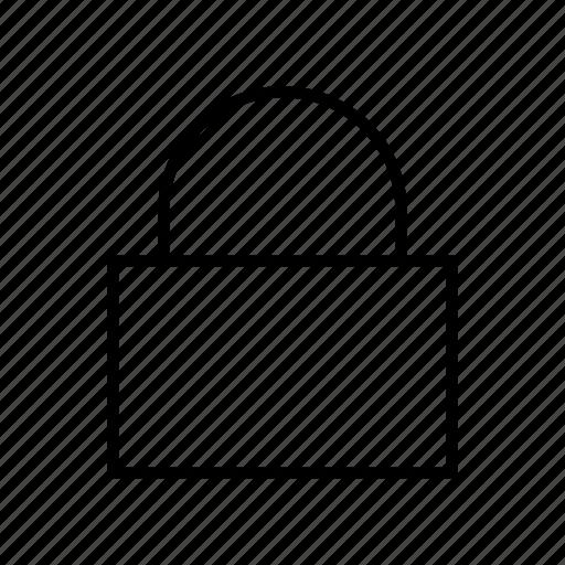 account, lock, password, protect, security icon