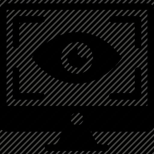 camera view, eye view icon, imac, pc, shooter, strike icon