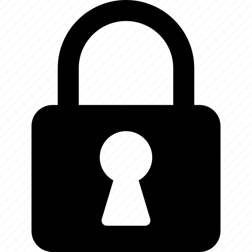 lock, locked, protect, protection, safe, secure, security icon icon