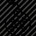 bomb, protection, skull, virus icon