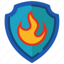 firewall, lock, protect, protection, secure, security, shield icon
