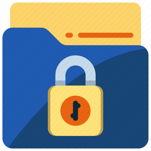 data, document, file, folder, protection, secure, security icon