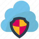cloud, data, protection, secure, security, server, storage icon