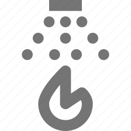 fire, flame, spray, sprinkler, water icon
