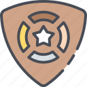 badge, investigating, military, ornament, police, sheriff, star icon