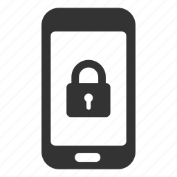lock, locked, password, protected, safe, smartphone, unlocked icon