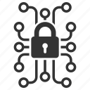 encrypted, encryption, lock, protection, safe, secure, security icon