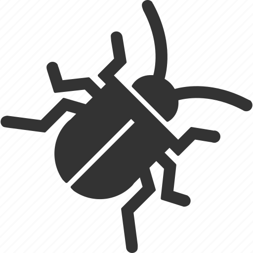 bug, danger, insect, safety, security, tick, virus icon