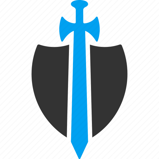 antivirus, guard, protect, protection, security, shield, sword icon
