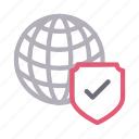 global, protection, security, shield, world