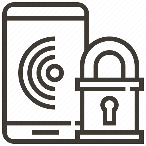 locked, privacy, protect, protection, safety, security, smartphone icon