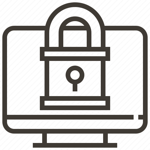 computer, key, password, privacy, protect, safety, security icon