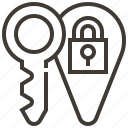 key, password, privacy, protect, protection, safety, security icon