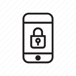 phone, protection, safe, safety, secure, security icon