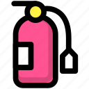 blaze, fire, fire extinguisher icon