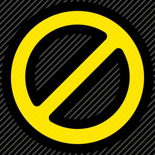 cancel, forbidden, prevention, stop icon