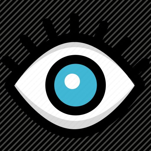 backdoor, spy, track icon
