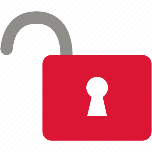 lock, open, padlock, password, security, unlocked icon