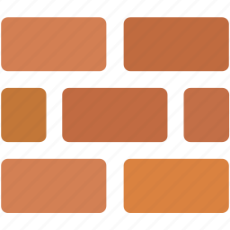 bricks, firewall, online, protection, safety, security, wall icon