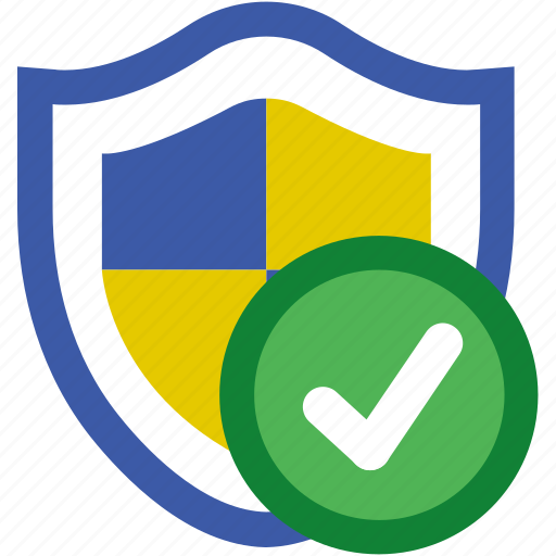 protection, safe, security, shield, up to date, updated, virus icon