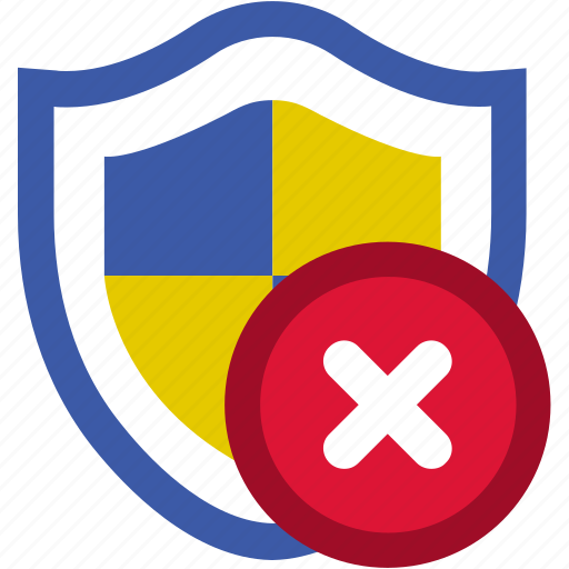 notification, protection, security, shield, update, virus, warning icon