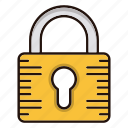 padlock, protection, safe, security icon