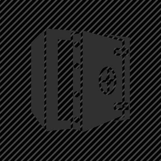 bank, bank vault, safe, vault icon