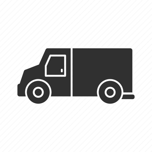 armored truck, armored van, bank truck, money truck icon
