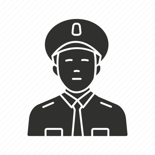 guard, officer, police, security guard icon