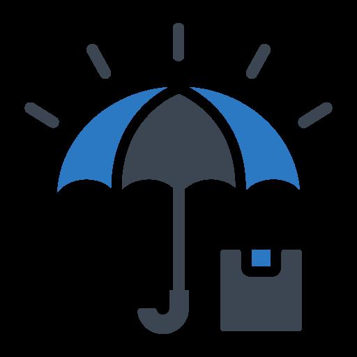 Lock, protect, security, shield, umbrella icon - Free download