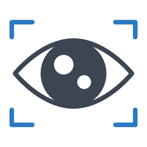 eye, lock, protect, security, shield icon
