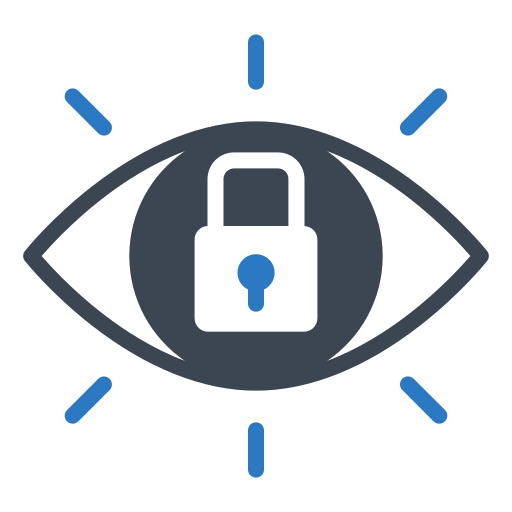 Eye, lock, protect, security, shield icon - Free download