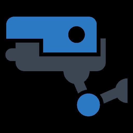 cctv, lock, protect, security, shield icon