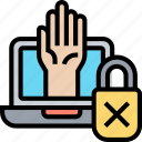 access, denied, error, login, lock
