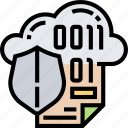 cloud, storage, protection, security, server