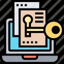 confidential, files, privacy, access, lock