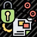 document, security, encryption, confidential, lock