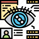 eye, scan, identity, verification, access