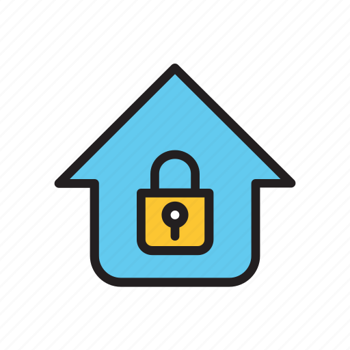 home, key, protection, safe, safety, security icon