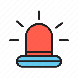 alarm, lamp, protection, safe, safety, security icon