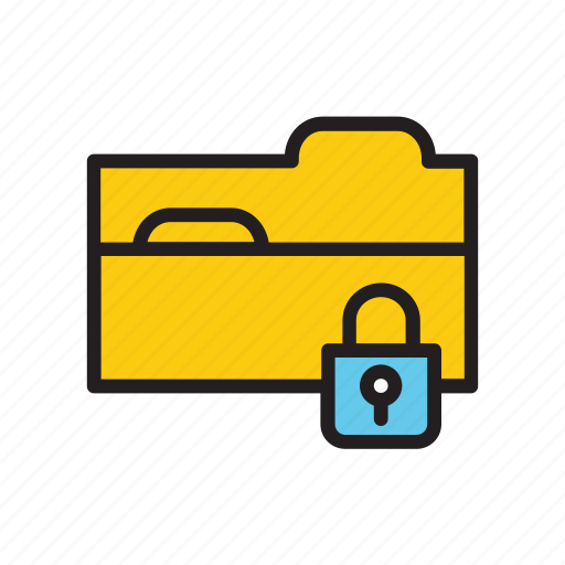 folder, protection, safe, safety, security icon
